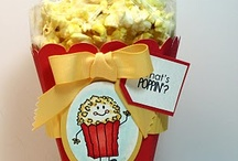 popcorn box/ bags/ other boxs/paper crafts / by Molly Stroh