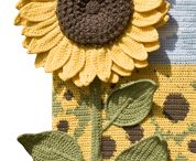 Croc Sunflowers
