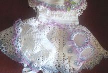 moda niña crochet