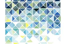 Watercolour pattern inspo