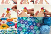 blanket flower crochet
