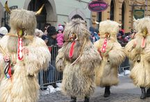 Ptuj Carnaval / Carnaval at the end of Febraury with traditional masks that make the winter go away.Ptuj Slovenia