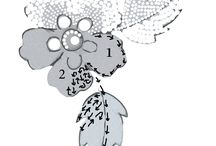 вышивка цветок бисером