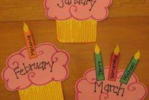 Doğumgünü sınıf posterleri