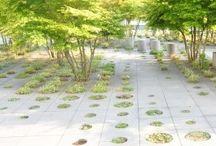 Park Hoevenseweg / Inspiratie tbv tuinontwerpen bij drie moderne nieuwbouw villa's in compound