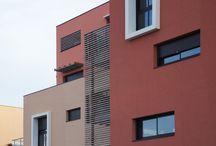 Quartier Saint-Martin / Montélimar / Programme 94 logements Maître d'ouvrage Propria SHON 7 195m² Coût HT 6.3 M€ Livraison 2008