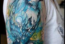 tatuaże, czyli obrazy na ciele