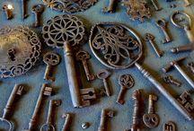 Under Lock & Key / I just LOVE ornate escutcheons, knobs, doors, locks and keys. / by Laura Wiley Warren
