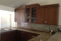 Starmark Cabinets / We are local dealer of Starmark Cabinets. This all wood cabinets are made to order in South Dakota.
