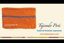 Agujas: como tejer dos o más colores / *
