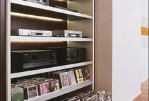 cabinets/book shelves / by ROSALIA