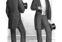 Męskie 1860-1880