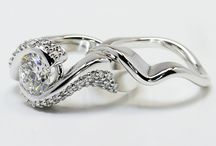 Custom Wedding Sets / We create wonderful wedding sets! Call us at 866-737-0754 or live chat us at www.brilliance.com! / by Brilliance.com