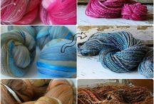 Spinning Yarn  / by ontheround