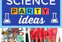 Birthday party: Science