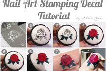 stamping decals