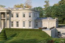 Classical Architecture Luxury Homes - Private Estates