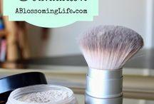 Natural makeup DIY / Chemical free makeup recipes