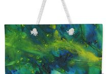 Handbags,  tote bags and other bags by Tracey Lee Art Designs / Bags with artwork by Tracey Lee Art Designs