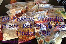 Food - Crockpot/Freezer / by Candace Lynn