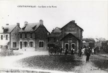 Vieilles photos et cartes postales / L'histoire d'Agon et de Coutainville...