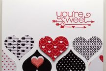 SU sweetheart punch card ideas