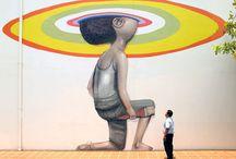 Graffiti & others street Arts / Si le silence est d'Or, la parole est de béton. -zoo project / by Eric Berlin