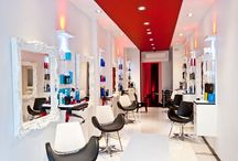 Magnifique Hair Salon / Magnifique Hair Salon #interior design and #decor by INS Contractors.