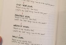 Simple & Meaningful Goal Setting / Set Goals that make an impact