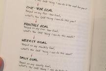 Organisation | Planning & Goals