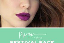 Prima Makeup Festival Wear