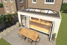 Flat Roof Extension with skylight