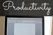 Productivity / Tips for productivity, how to be more productive,