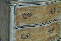 Festett bútorok / a legjobb időtöltés ... festeni, festeni és hihetetlen dolgok születnek