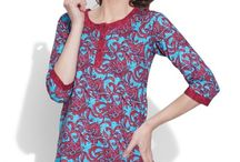 Cotton Printed Kurti- Women / Look casual when you are at home, relaxed when you go for hangout, sophisticated in party with the best collection of floral printed cotton Kurtis which is perfect for every season.