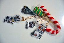 My Works - Bijoux / BIjoux originali fai da te. Orecchini, spille, bracciali, collane. Fimo, plastica pazza, cotone, resina