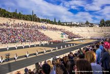 Olympic Games Rio 2016 - Olympic Flame Athens Greece / Handover Ceremony for the Olympic fFame at the Panathenaic Stadium in athens
