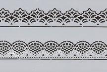Stencil-plate. (Трафареты)