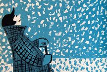 1960 illustrations / Illustrations styles from the 60's