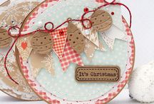 Christmas card toppers
