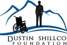 Dustin Shillcox Foundation / Improving Lives: Donated wheelchair specific workout equipment including an FES bike as well as a standing frame and wheelchair equipment to therapeutic communities.    Raising Money for Spinal Cord Research:  Fundraising appearances and event participation via Wings for Life (RedBull) and the Christopher Reeves Foundation. Giving Hope:  Speaking to people and families dealing with spinal cord injuries. Showing them there is a reason to believe.