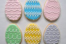 Jajka Wielkanoc Ciastka