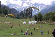 Himachal Tours (Shimla - Manali) / Himachal Pradesh derives its name from the sanskrit word, Himanchal, which means when split Him (Snow) & achal(Unmovable) or the mountain State. It is a beautiful Hill state nestled in the western Himalayas, High altitude mountainscapes with dense green Deodar forests, apple orchards, terrace farms, snow-fed lakes and gushing rivers, make it a popular tourist for thrill seekers and Honeymooners alike. Churches, palaces.