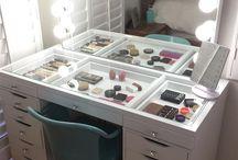 Uložení makeupu