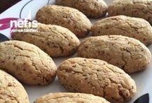 kavrulmuş susamli tahinli kurabiye