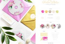 Our Branding Boards / Branding & Stationery by Pearl & Pixel