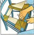 Rempaillage chaise
