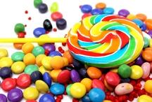 Sweet / Color + flavor + sugar + shapes