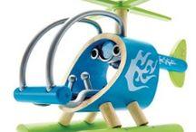 Ekologisia leluja / Kestävyys, laatu ja ympäristöystävällisyys on otettu huomioon näissä leluissa.
