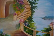 My passion, my art / Oil paintings